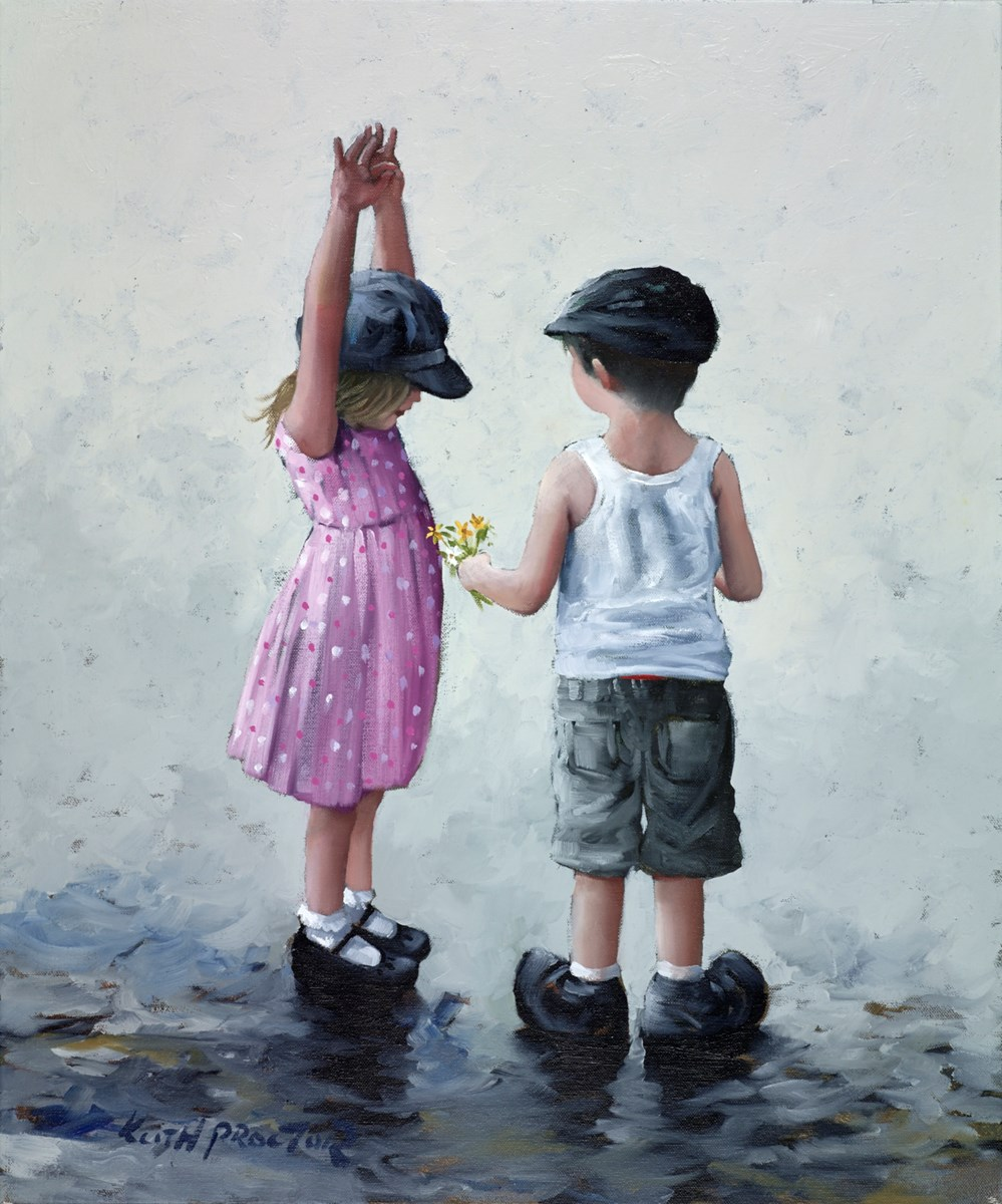 Sweet Nothings by keith proctor -  sized 20x24 inches. Available from Whitewall Galleries